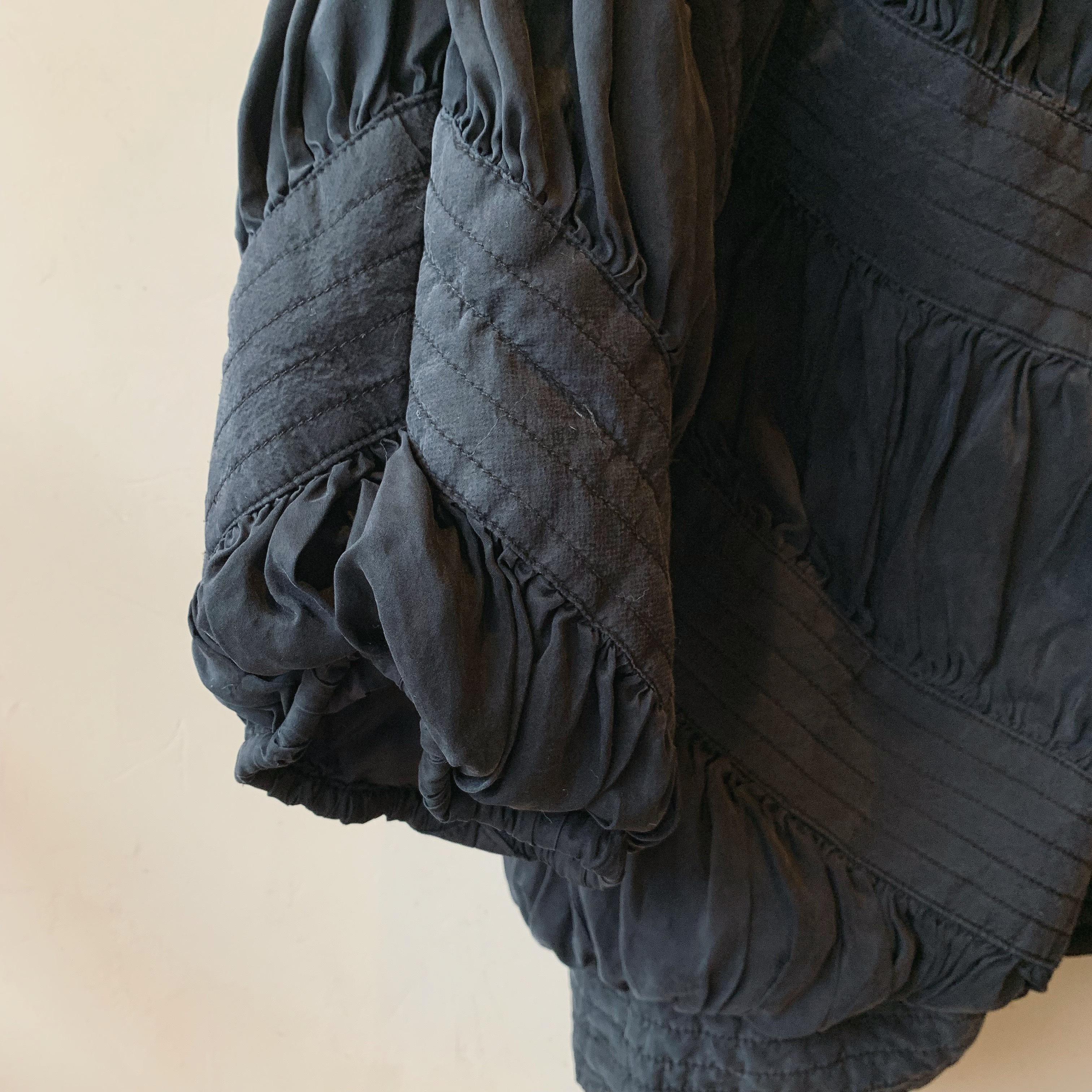 vintage silk volume outer
