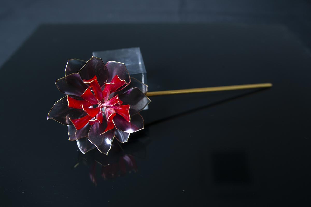 【絢爛】ー金魚花(小)Goldfish flower
