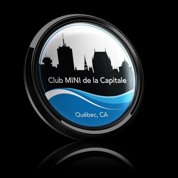 ゴーバッジ(ドーム)(CD1112 - CLUB BADGE Club-MINI de la Capitale) - 画像3