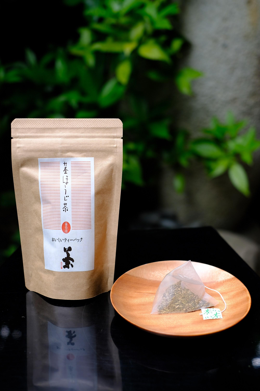 【茎ほうじ茶ティーバッグ】 湯呑用 2g×14個