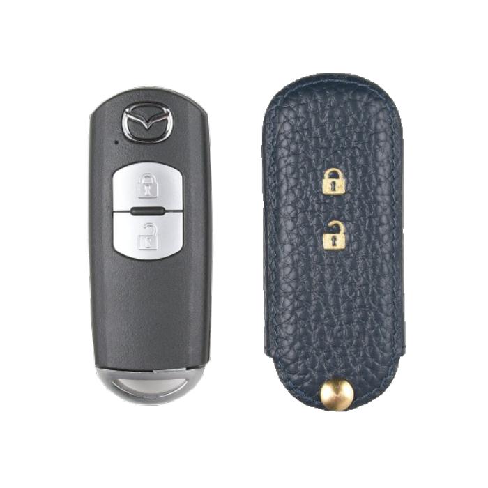 Mazda 専用 TypeA-2 Car Key Case Shrink Leather Case