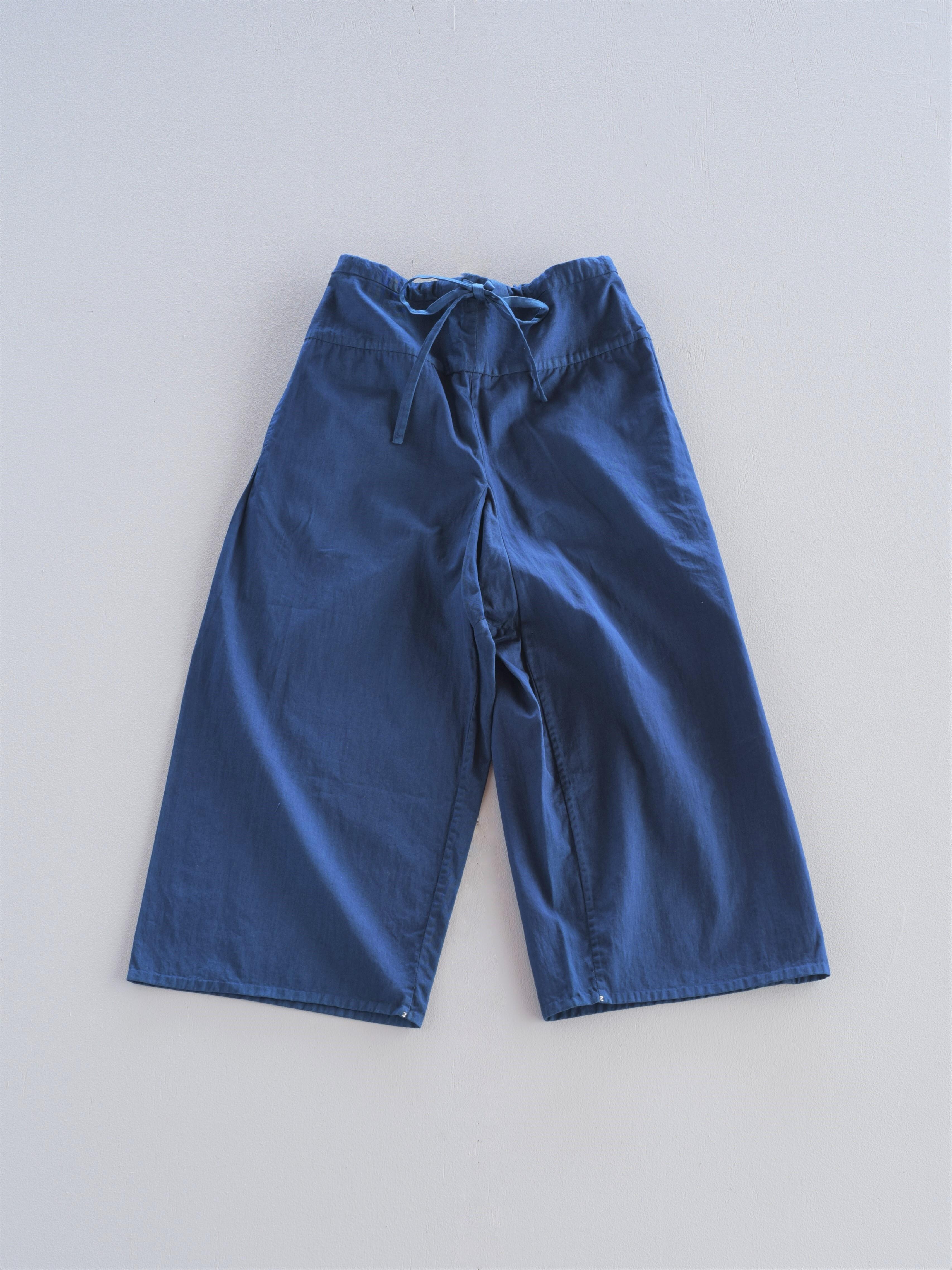 YAECA  khadi イージーパンツ indigo 本藍