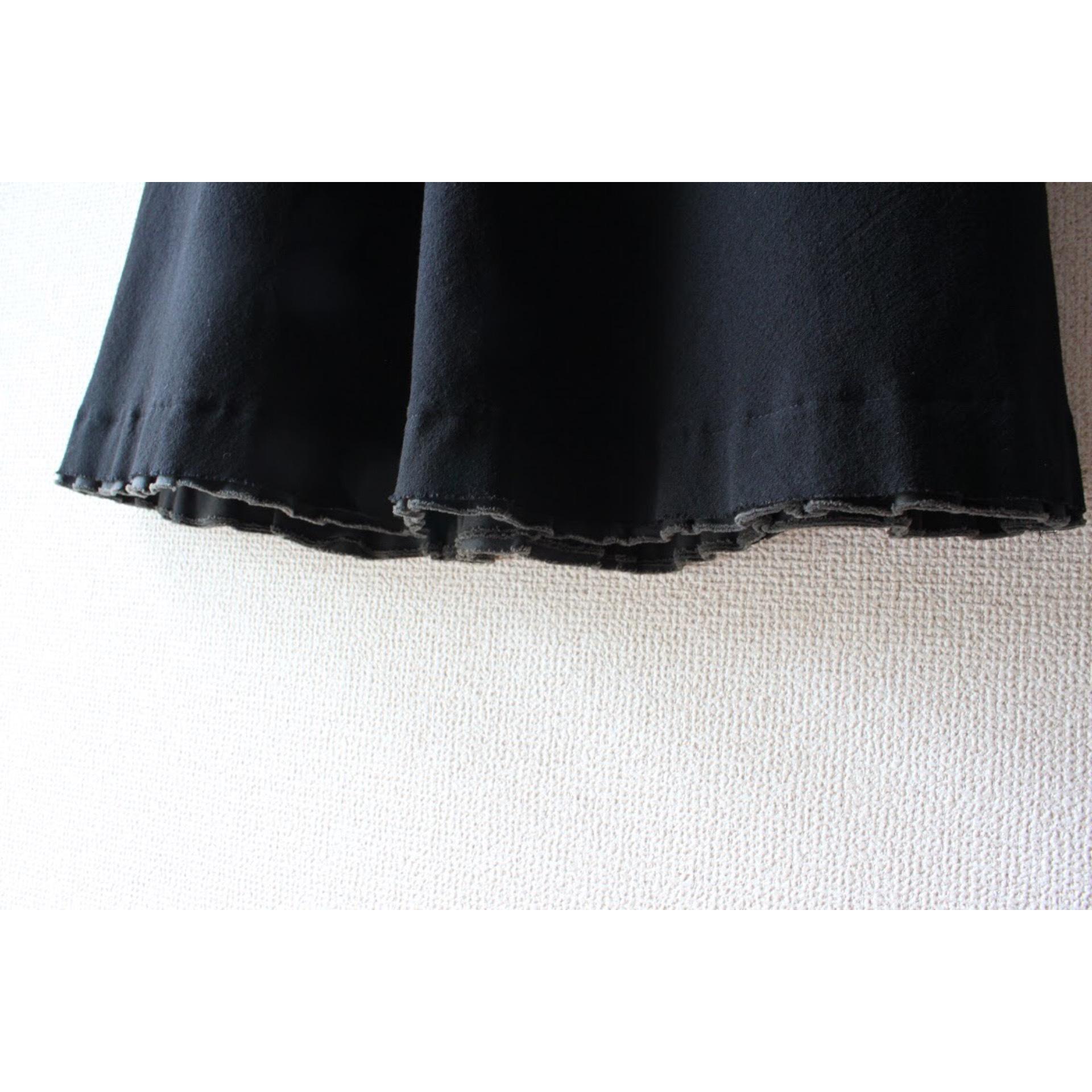 Long wool skirt by tricot COMME des GARÇONS
