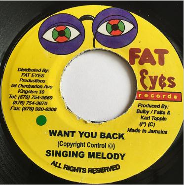 Singing Melody (シンギングメロディー) - Want You Back【7'】