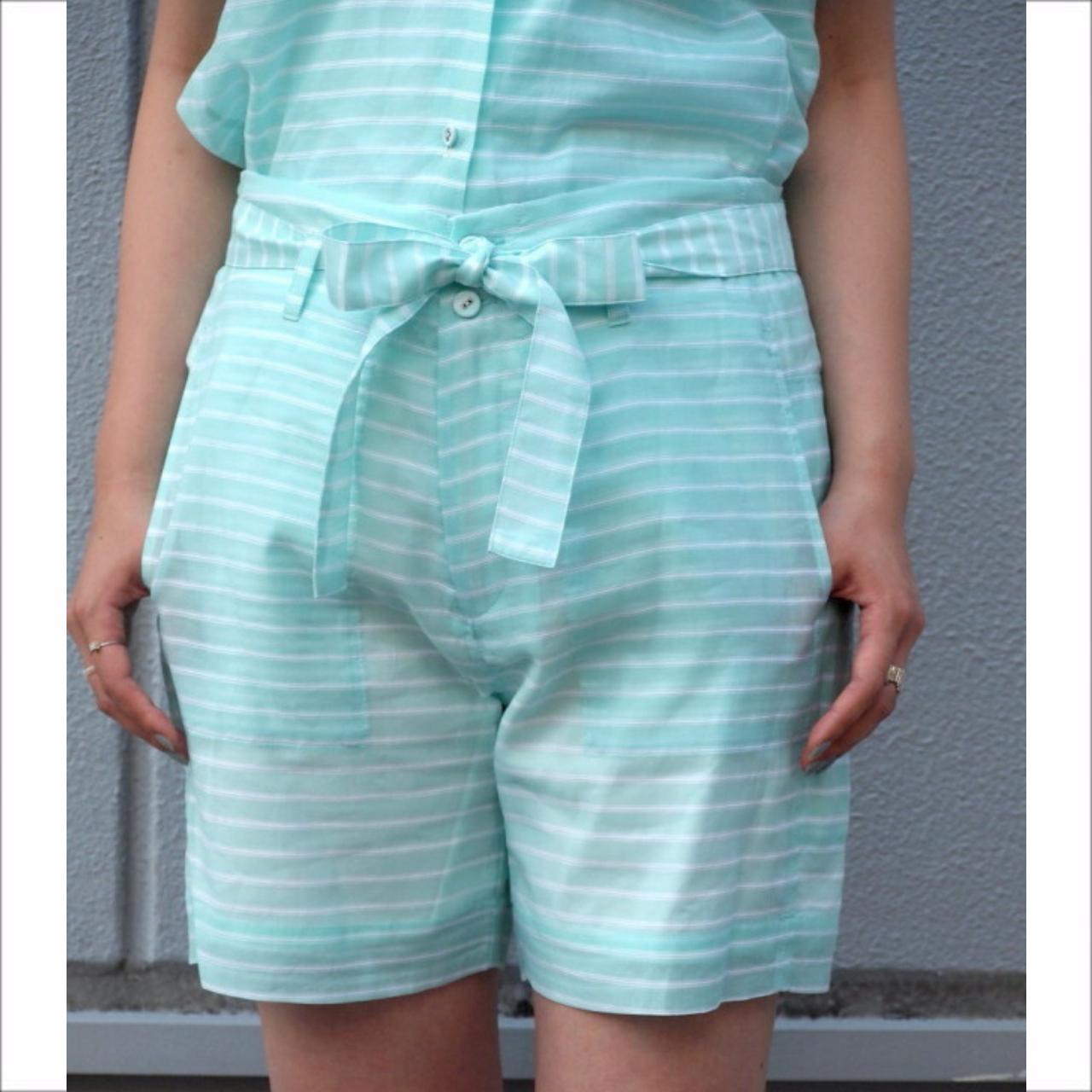 【hippiness】cotton chiffon easy short pants/【ヒッピネス】コットン シフォン イージー ショート パンツ