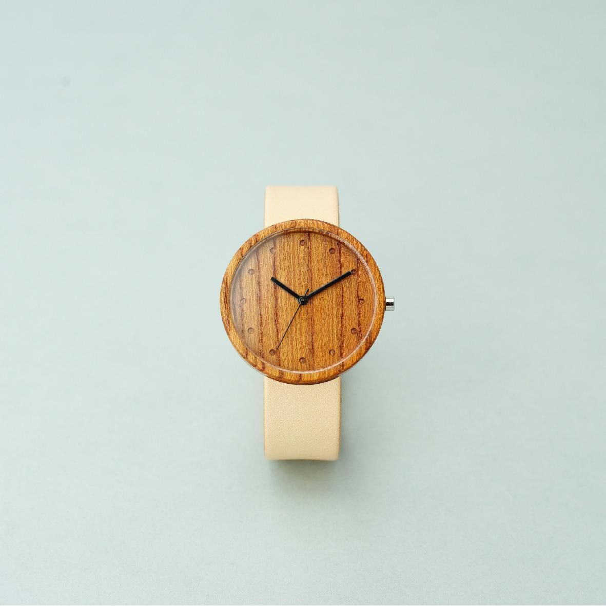 Zelkova wood - Natural - L