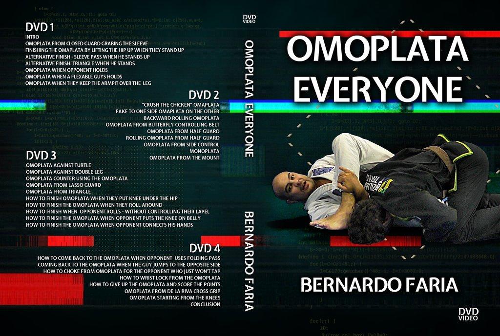 ベルナルドファリア オモプラッタ エブリワン DVD4枚組|ブラジリアン柔術教則DVD