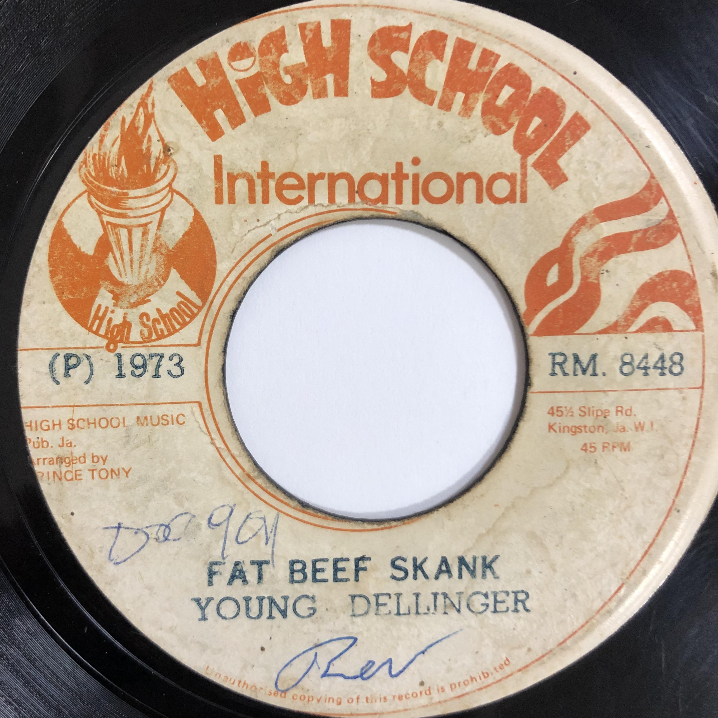 Young Dellinger(デリンジャー) - Fat Beef Skank【7-20193】