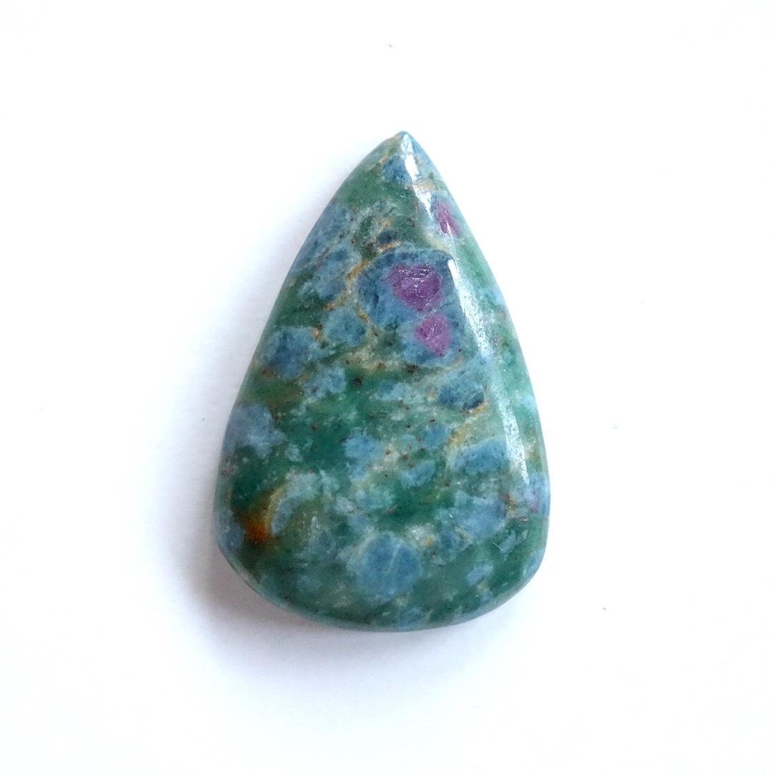 ルビー・カイヤナイトインフックサイト 天然石ルース