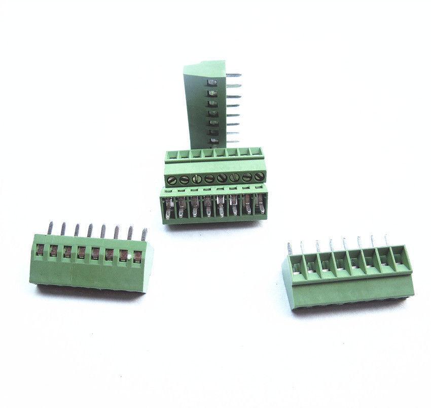 8ピン 2.54mmピッチ 小型スクリュー端子台 【特価処分品】