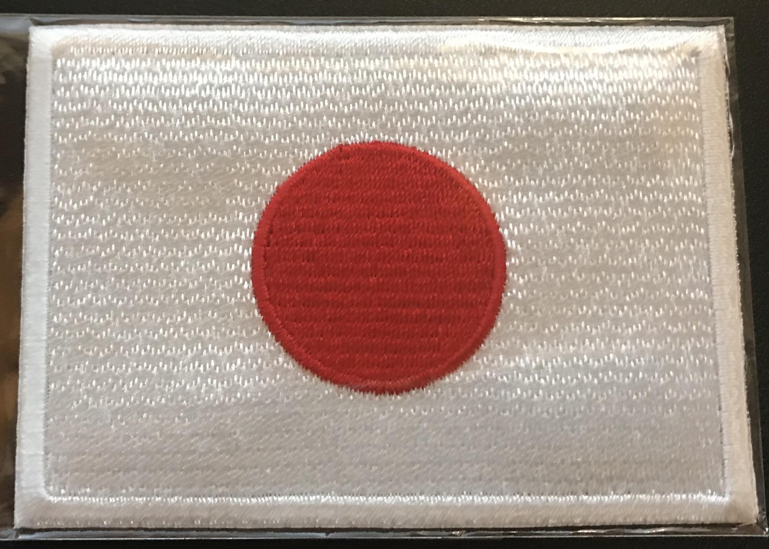 日章旗(日の丸)アイロンプリントパッチ