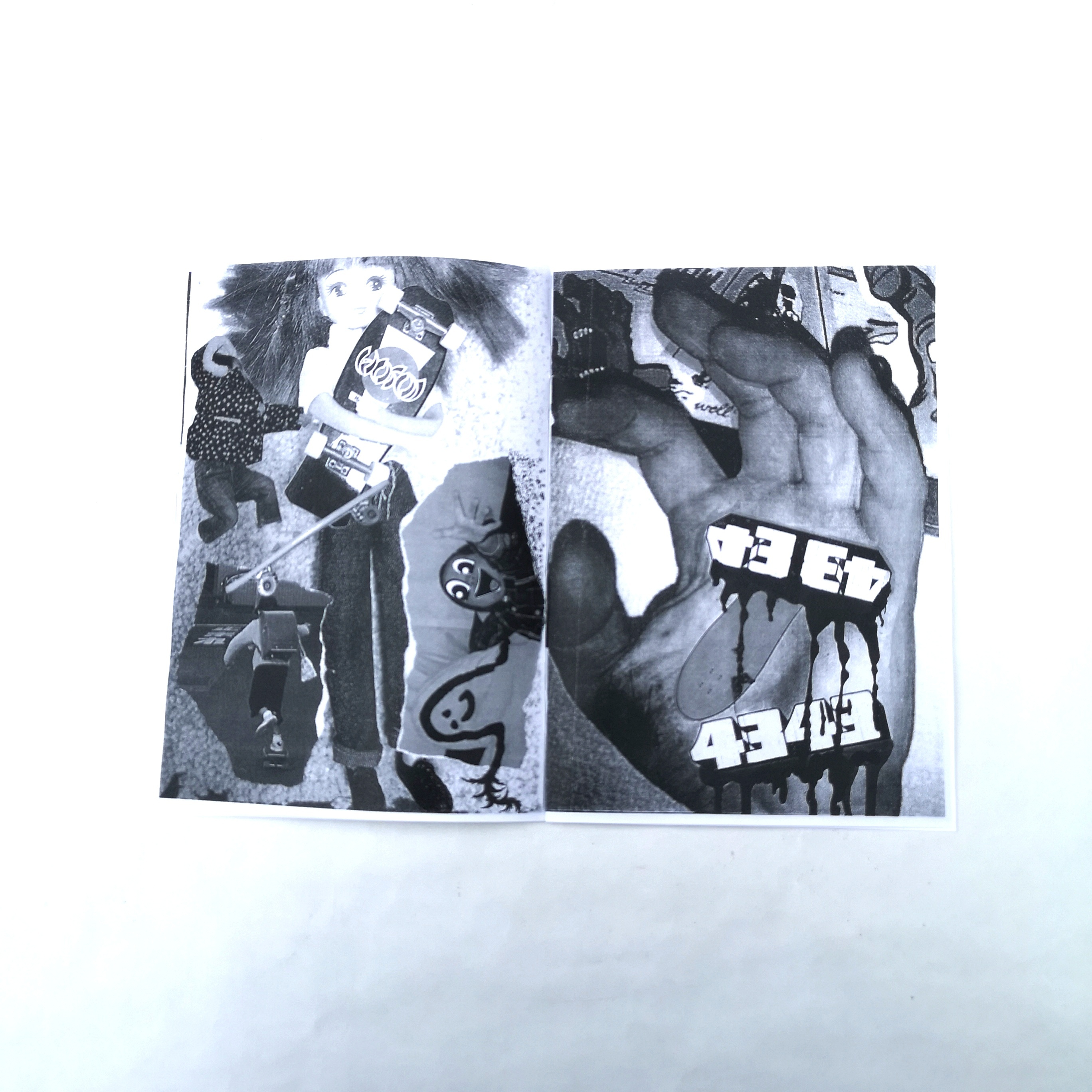 ||||| ZINE#2+STICKER