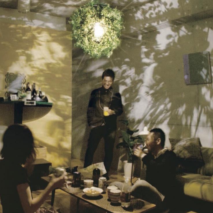 影を愉しむ照明 Mini-Foresti DI-CLASSE ペンダントランプ 照明