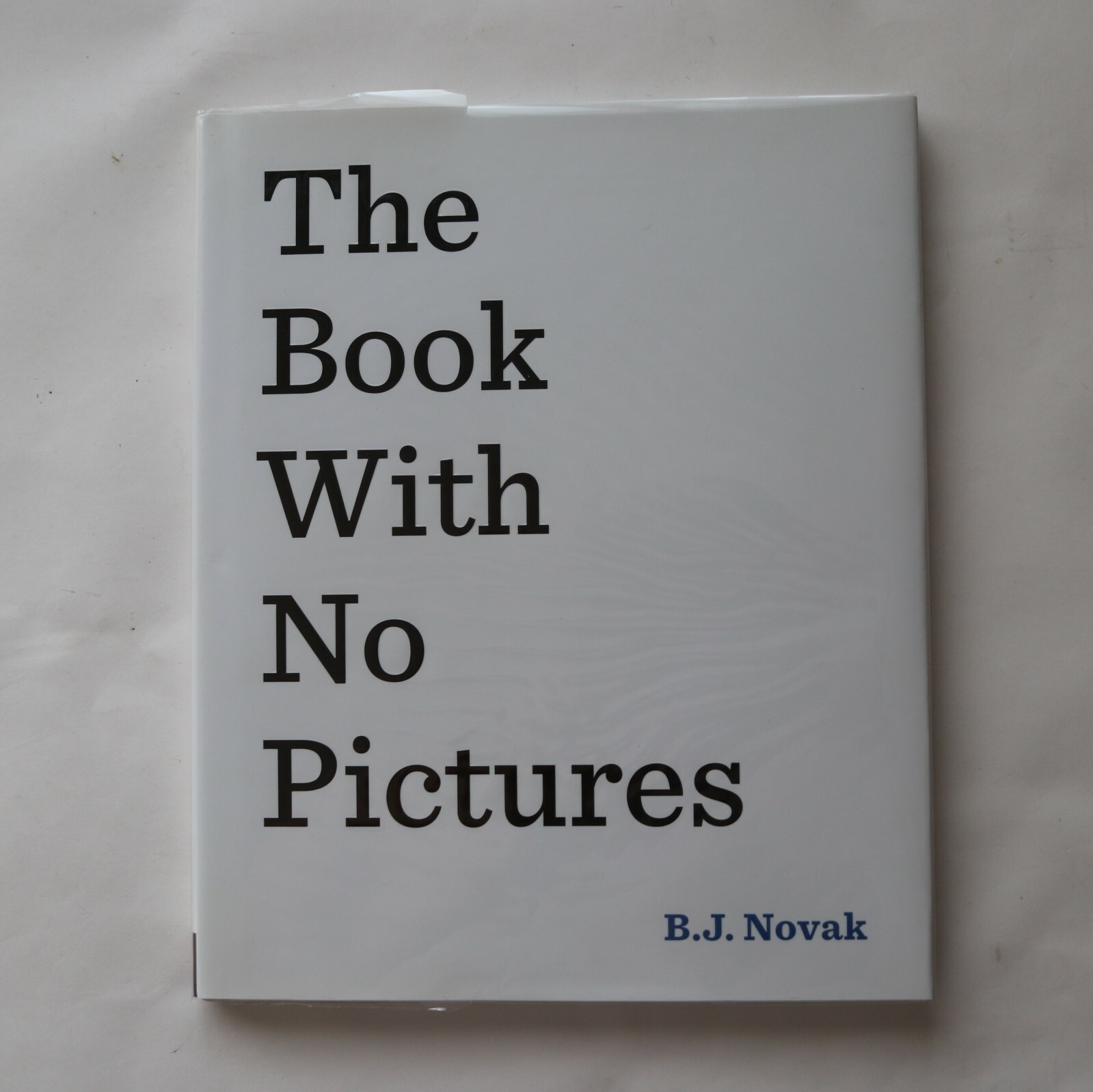 The Book With No Pictures / B. J. Novak