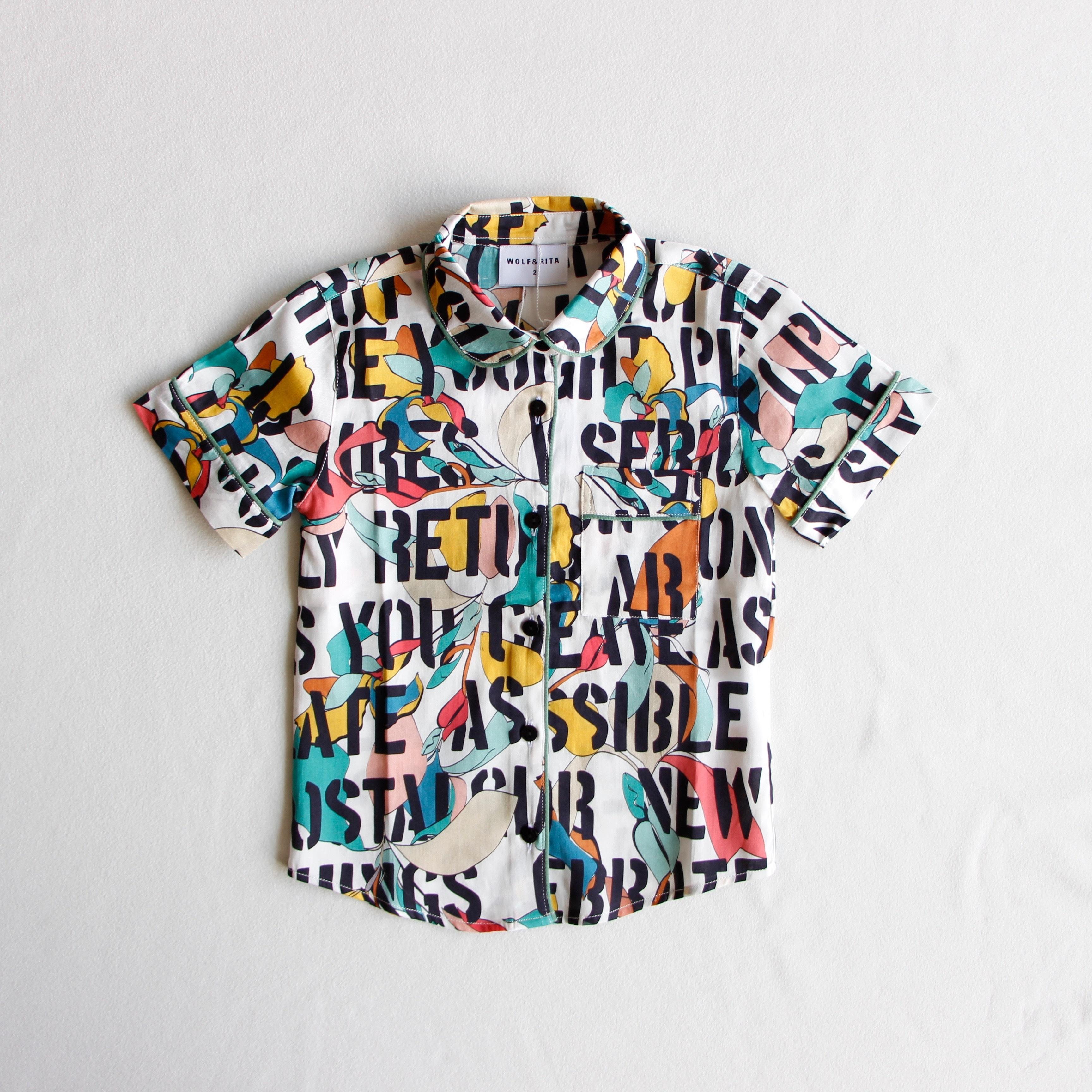 《WOLF & RITA 2019SS》Viviana blouse / kids motto