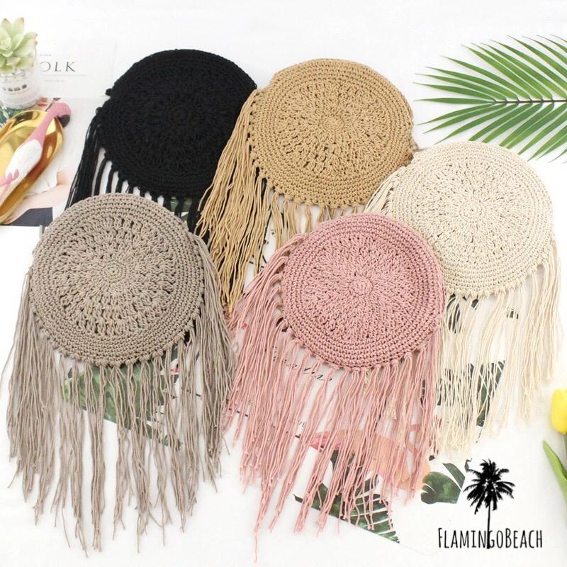 【FlamingoBeach】tassel shoulderbag ショルダーバック 44756