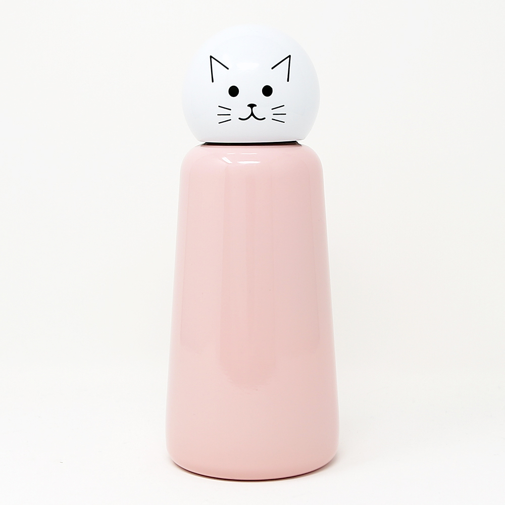 猫水筒(スキットルボトル)キャット