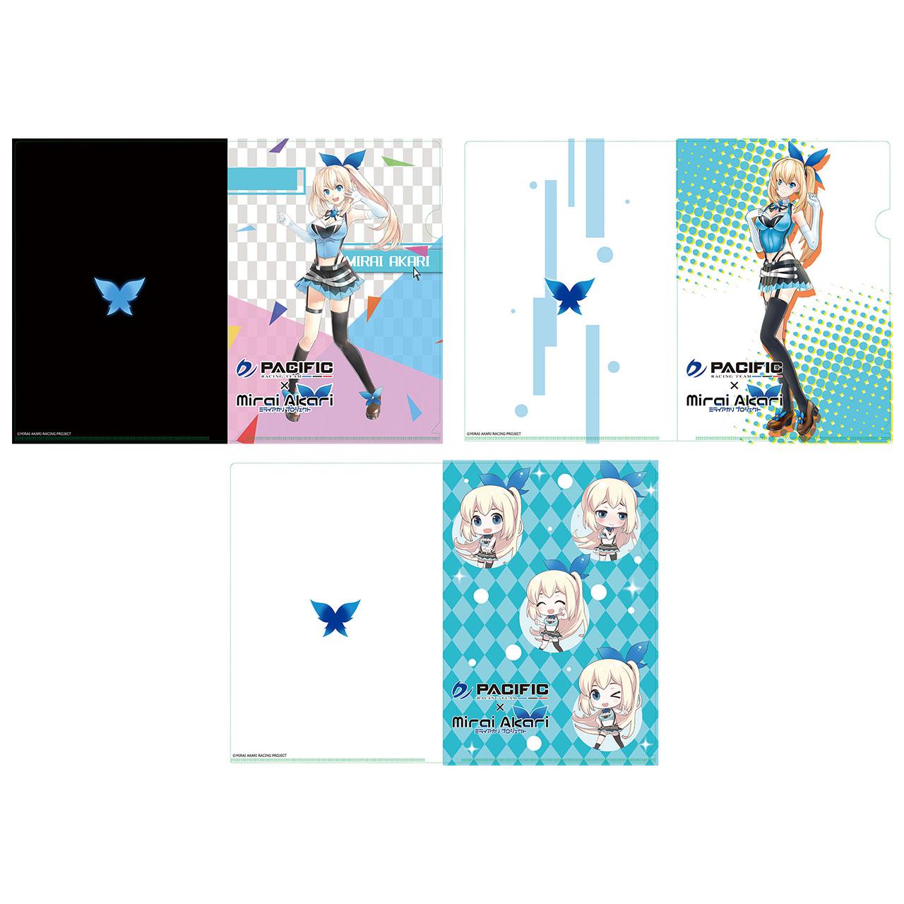 【数量限定】パシフィックレーシングチーム×ミライアカリ/クリアファイル オリジナルVer.