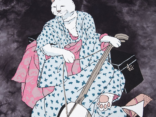 RIPNDIP|Warrior Tee (Black / White Tie Dye)
