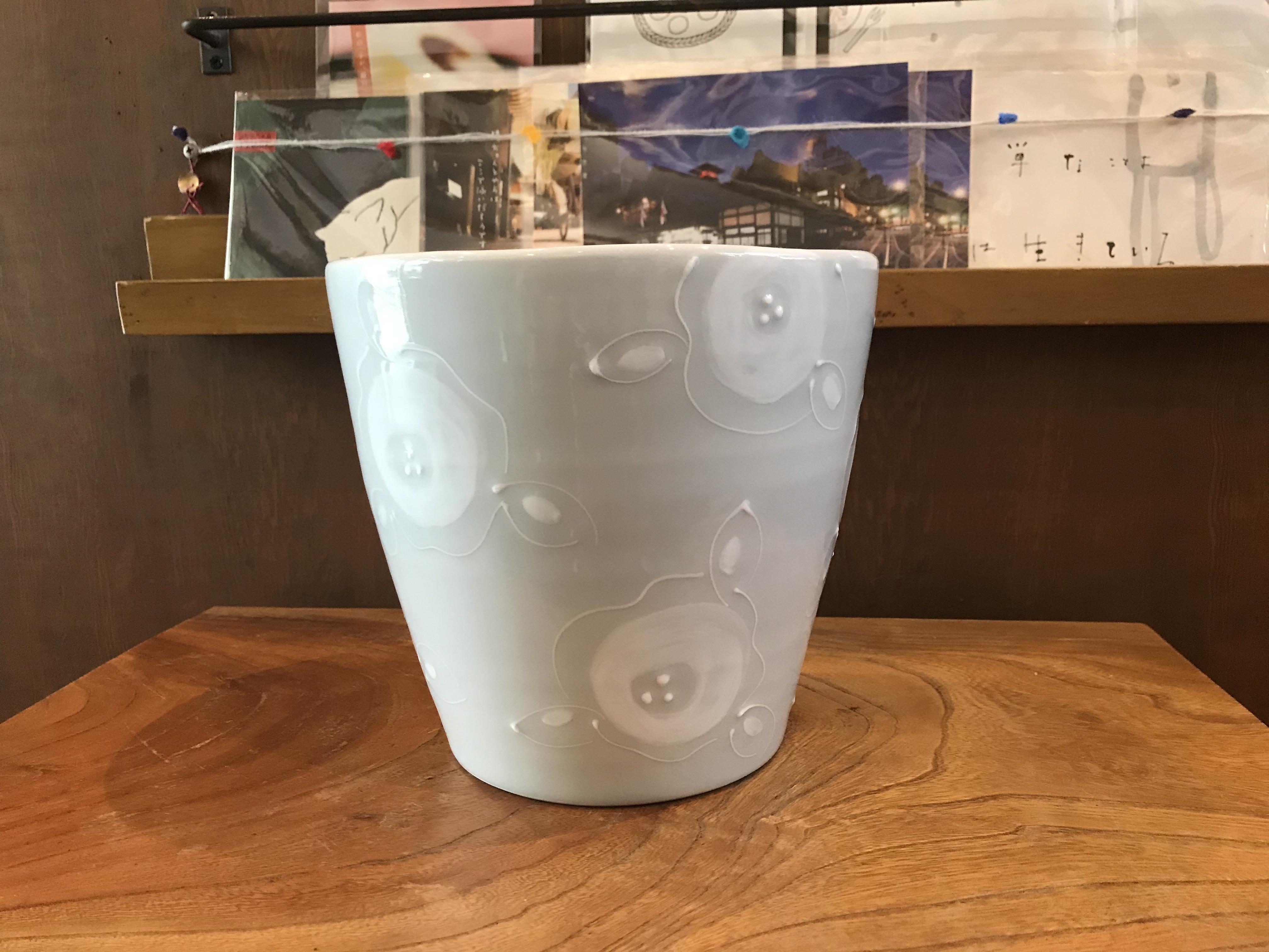 砥部焼 陶彩窯 いっちんの深鉢