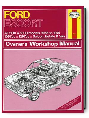 フォード・エスコート・1100 & 1300・1968-1974・オーナーズ・ワークショップ・マニュアル