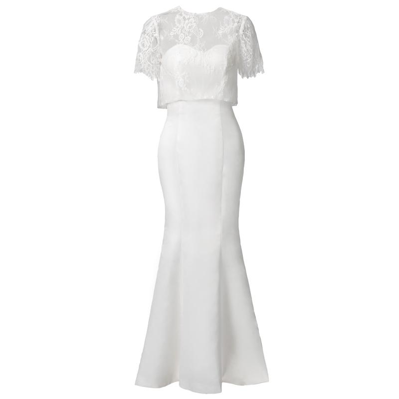 【DearWhite】ウェディングドレス Aライン プリンセス エンパイア デコルテ 結婚式 披露宴 二次会 パーティーウェディングドレス・カラードレス・サイズオーダー格安オーダーメイド DW00025