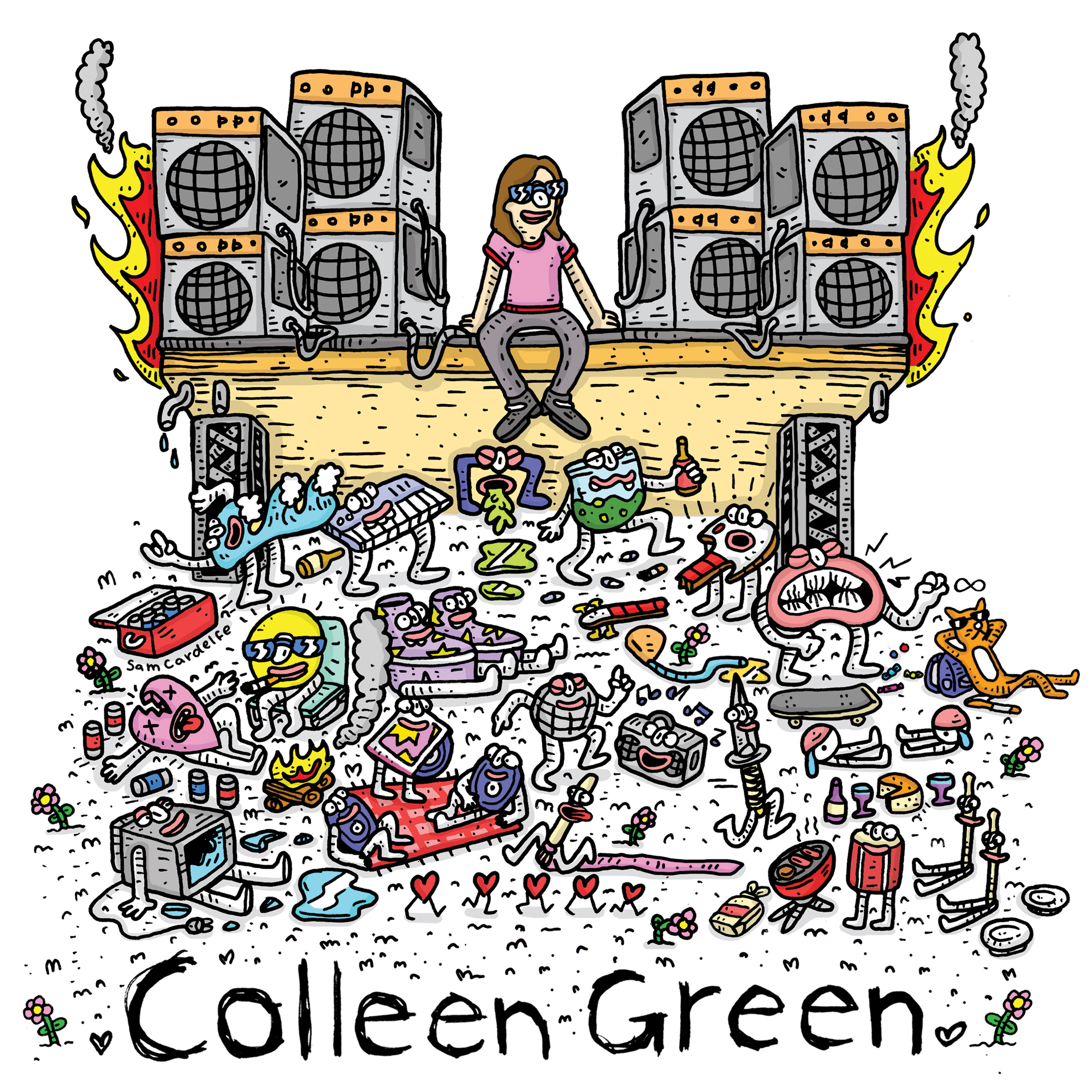 Colleen Green / Casey's Tape / Harmontown Loops(Ltd LP)