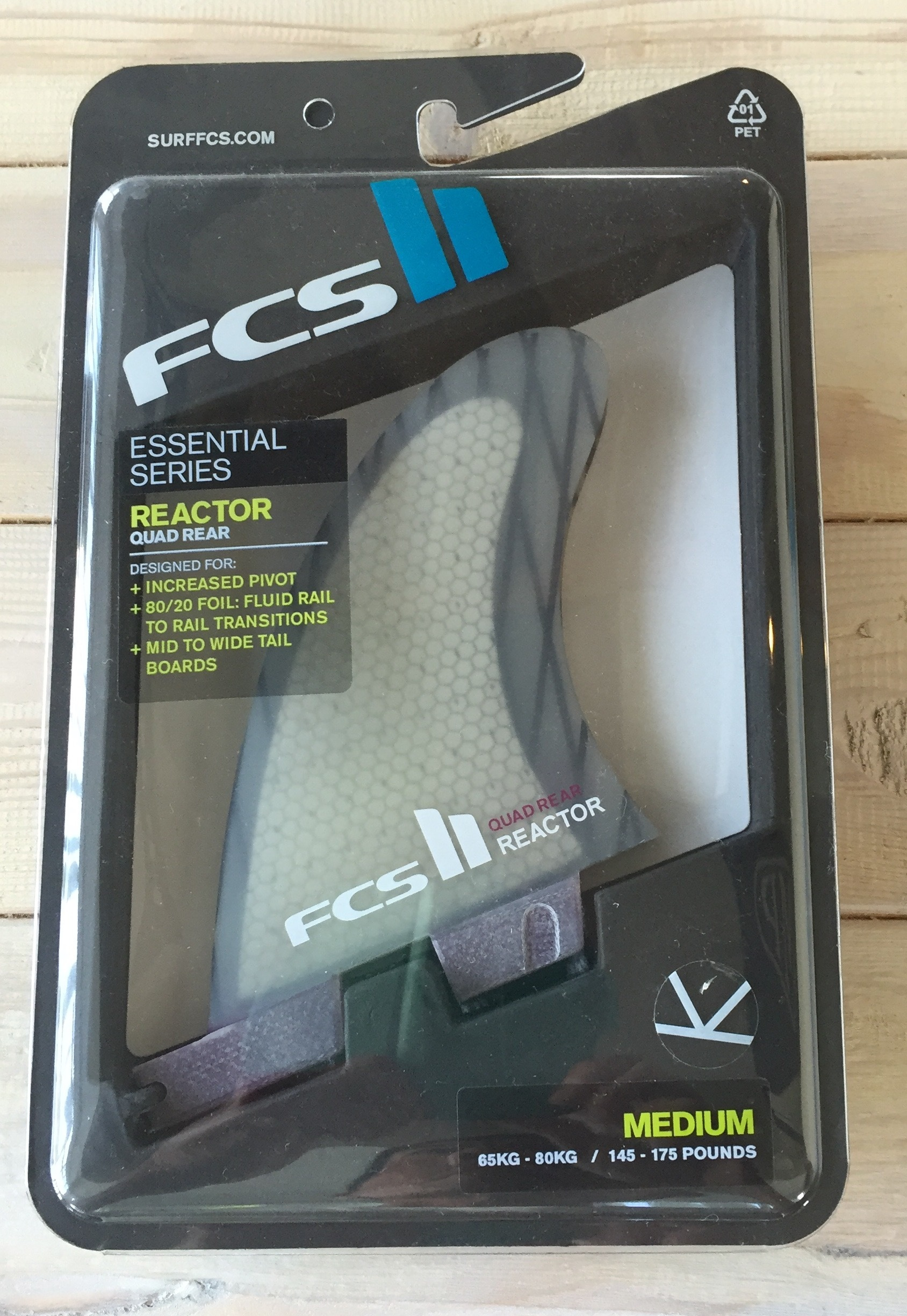 FCS II Reactor PC Carbon Quad Rear Set