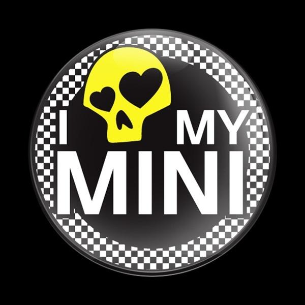 ゴーバッジ(ドーム)(CD0285 - I LOVE MY MINI 02 YELLOW) - 画像1