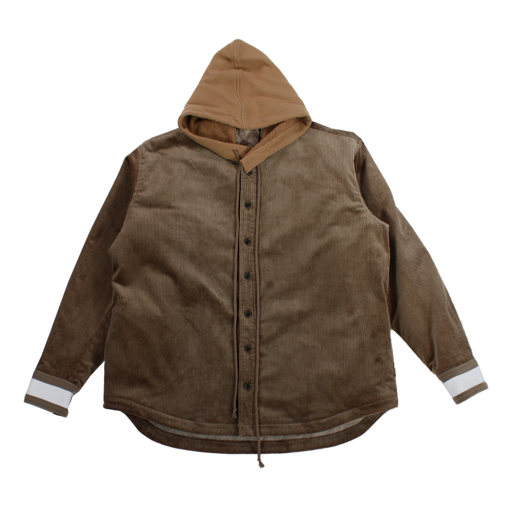 SHEBA Corduroy Hooded Shirt