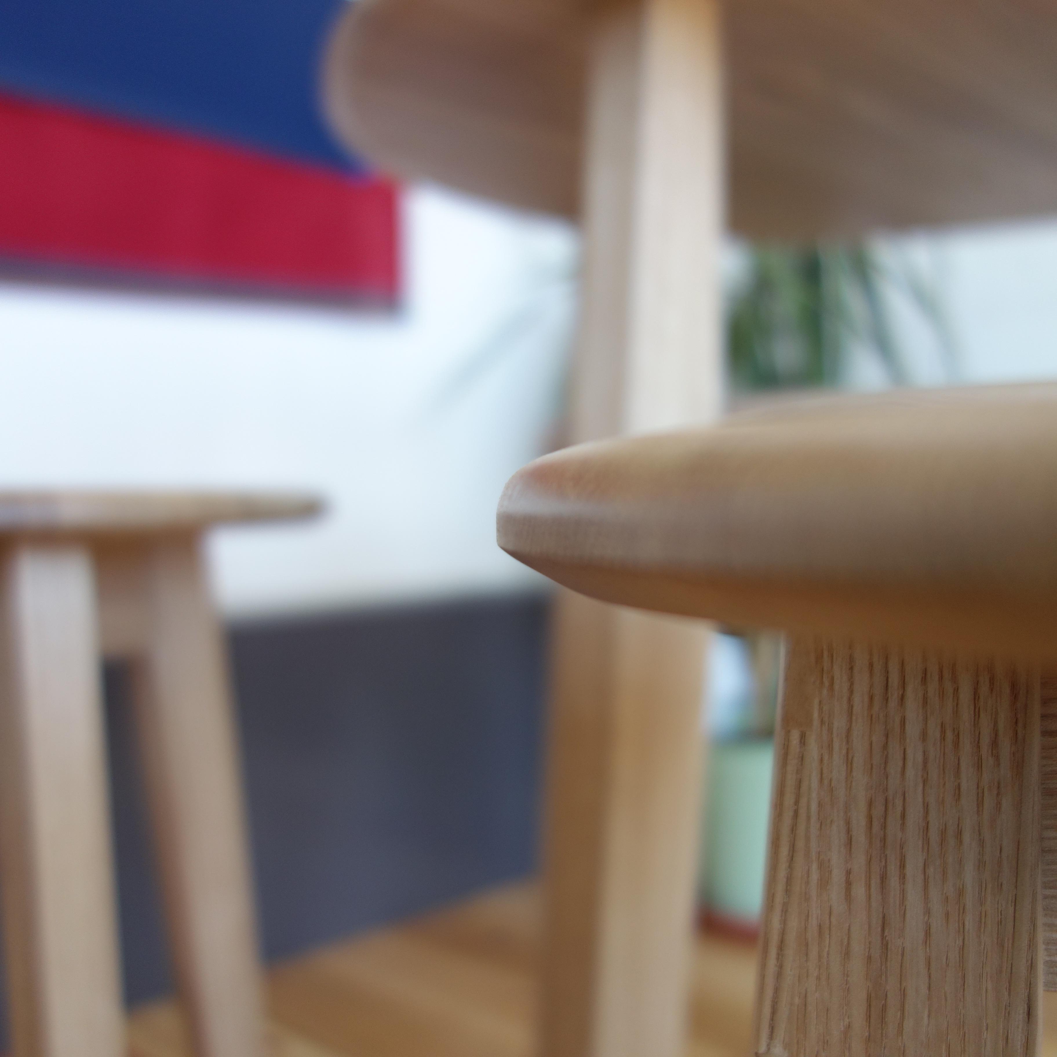 【カフェテーブル 3点セット】 テーブル×1 スツール×2 - 画像5