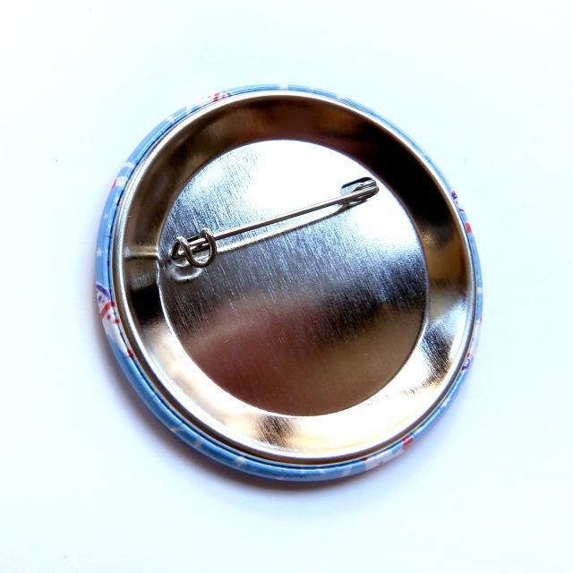 缶バッジ 57mm - 宇宙フォークダンス