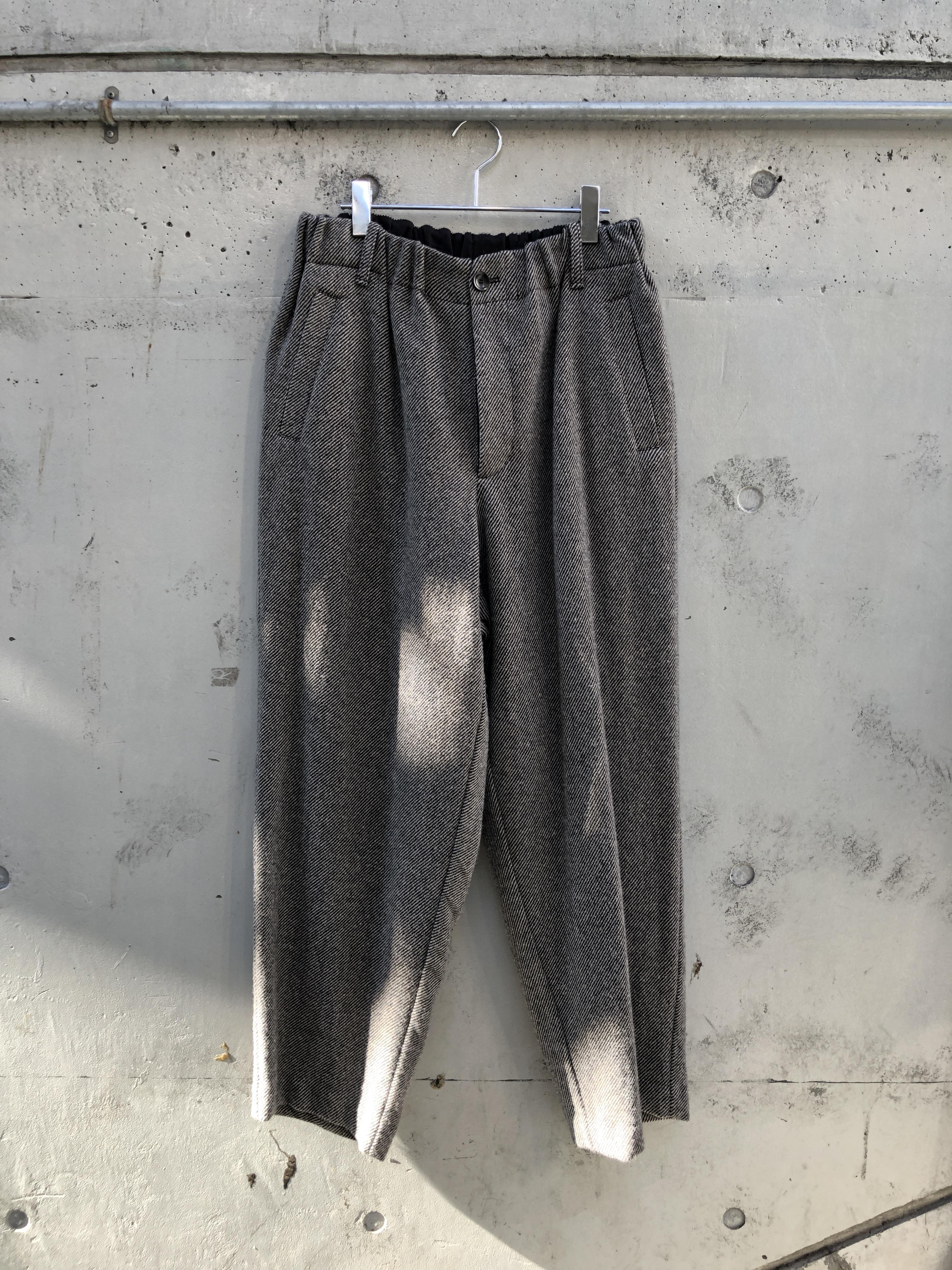 『VOAAOV』tumbler tweed wide pants
