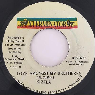 Sizzla(シズラ) - Love Amongst My Bretheren【7-20107】