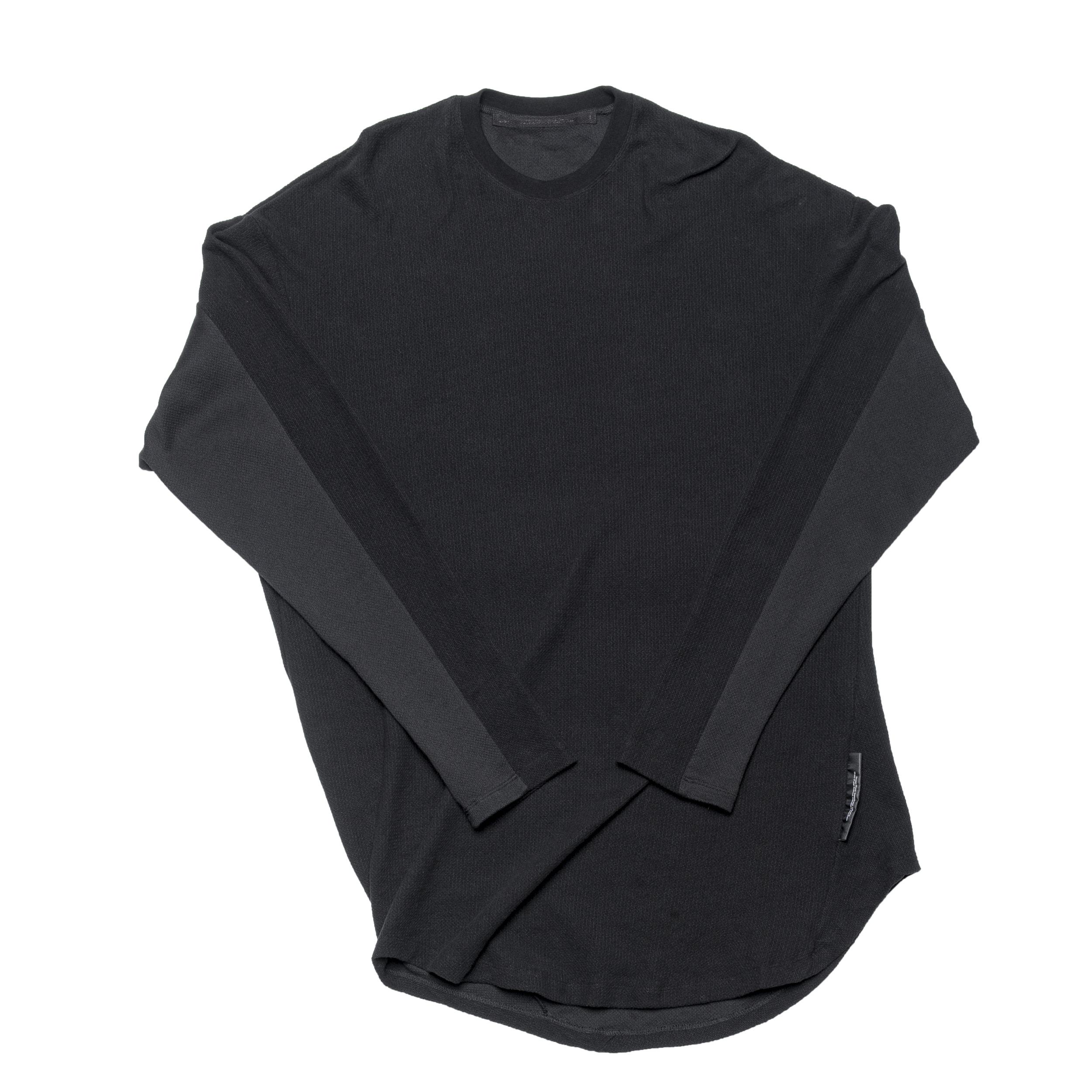 687CUM3-BLACK / ツイストシャツ