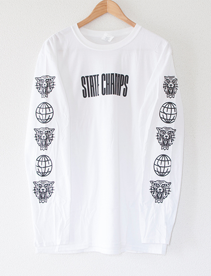※Restock【STATE CHAMPS】Living Proof Long Sleeve (White)