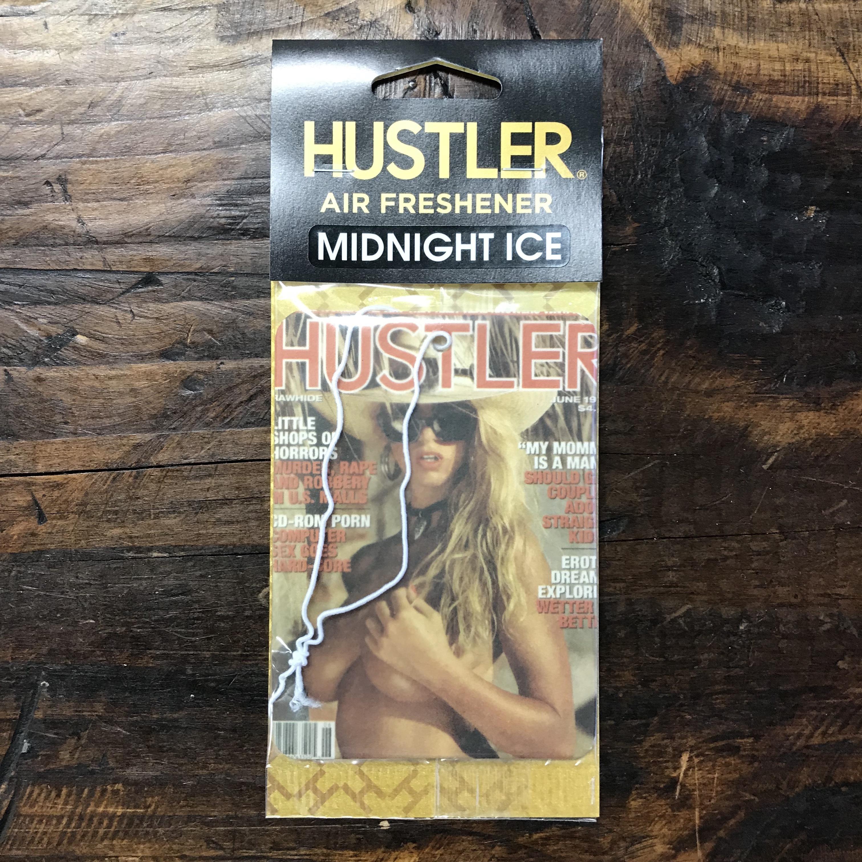 HUSTLER・セクシーガールエアフレッシュナー・ミッドナイトアイス(ブラックアイス風)・1994-06