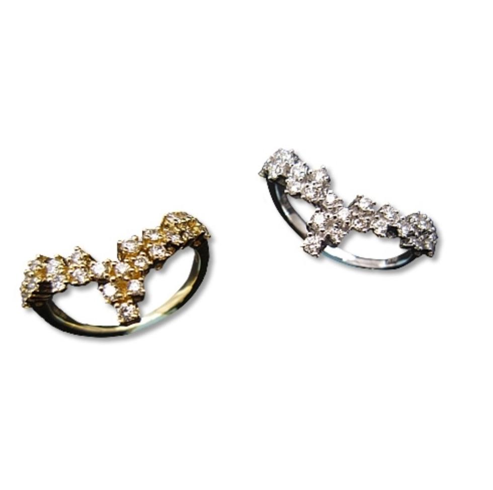 jewelG<Ladylook> リング K18/ダイヤモンド