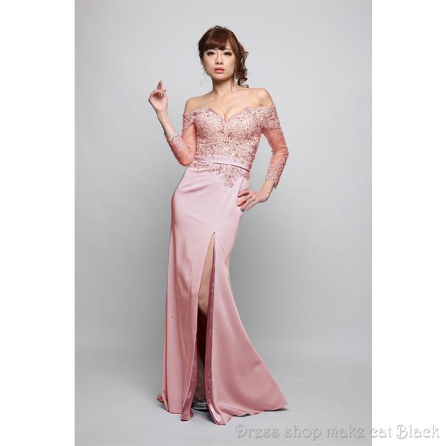 (9号) 2色展開 ロングドレス ¥35.640-(税込) 二次会ドレス ドレス パーティー イルマ IRMA JEAN MACLEAN ジャンマクレーン 81197