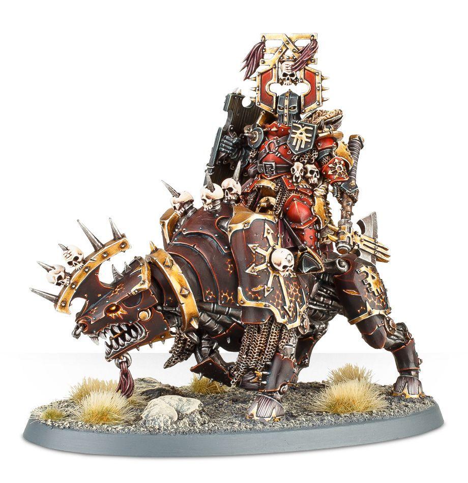 【ウォークライでもok!】Lord of Khorne on Juggernaut