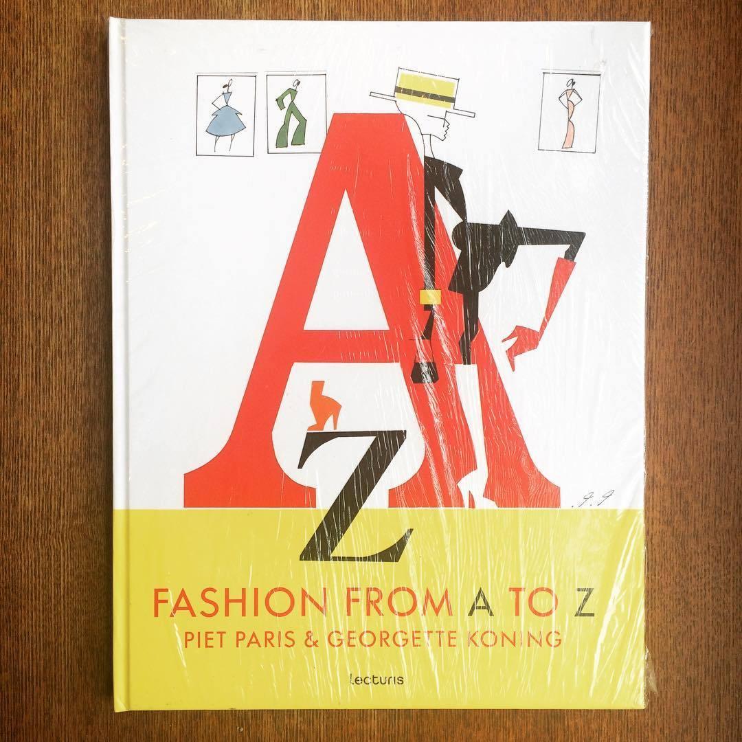 ファッション用語イラスト集「Fashion from A to Z/Piet Paris、Georgette Koning」 - 画像1