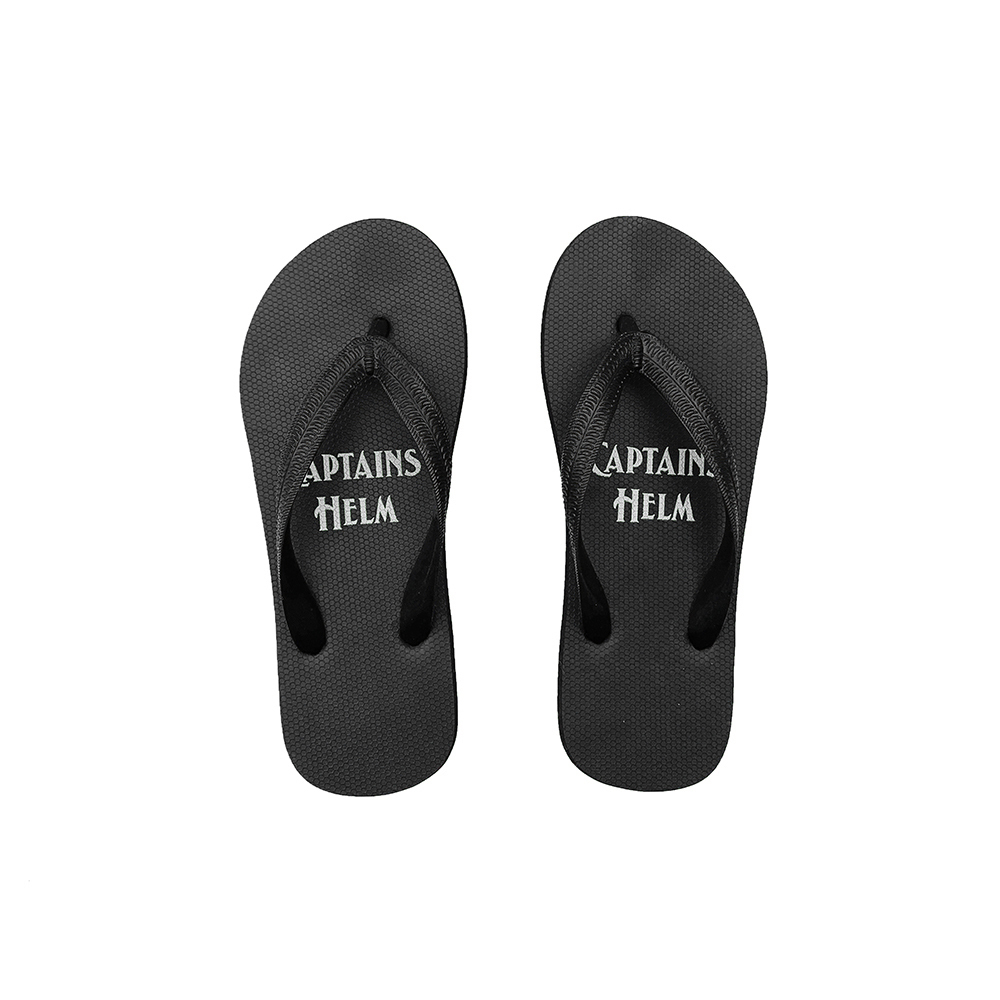 CAPTAINS HELM #Logo Flip-Flop