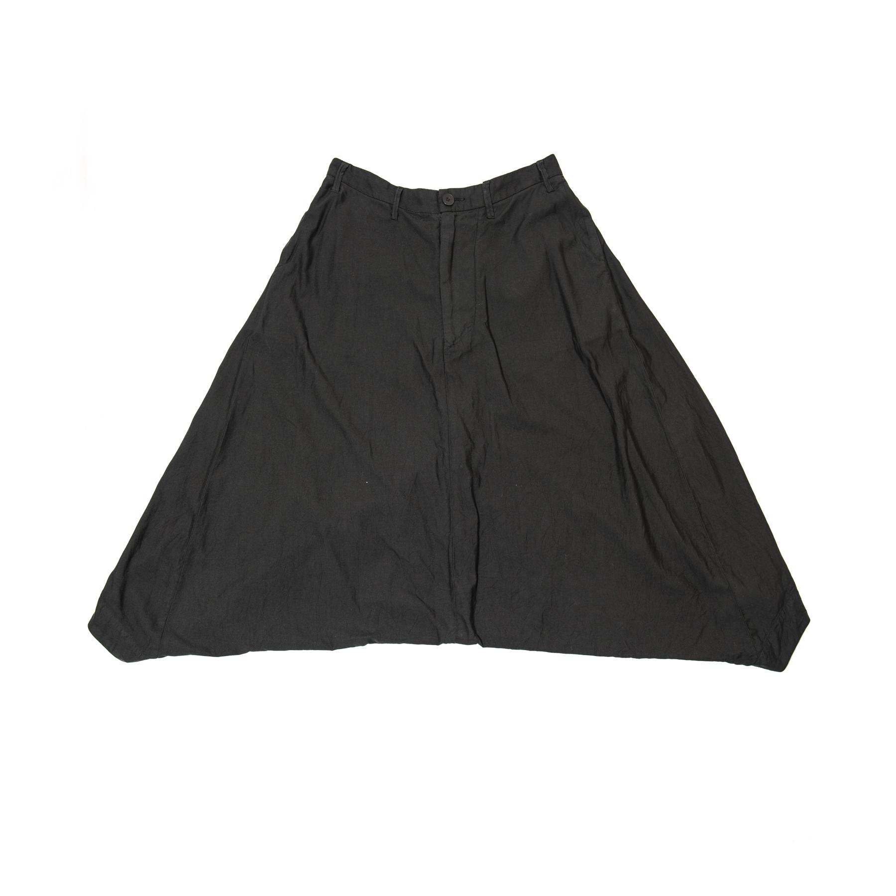 007PAM46-BLACK / オーバークロッチパンツ