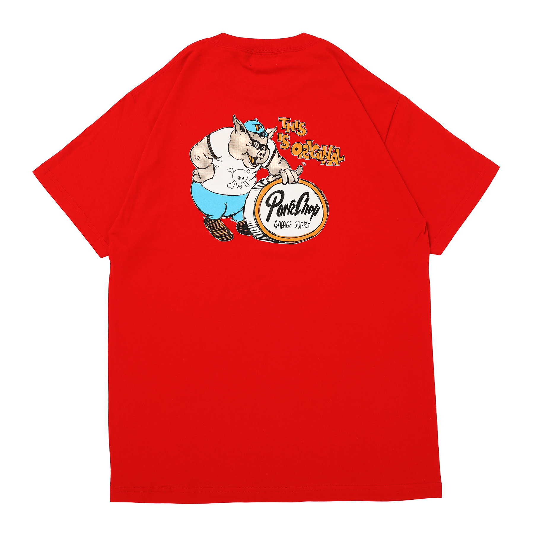 THIS IS ORIGINAL TEE/RED