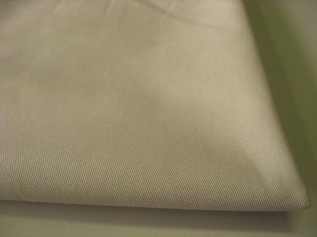 綿ツイル、グリストーン+微起毛加工 グレイシュベージュ CTM-0054