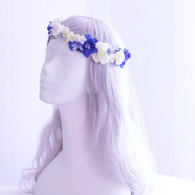 〖 オーダーメイド・花冠 〗アーティフィシャルフラワー、造花の花冠