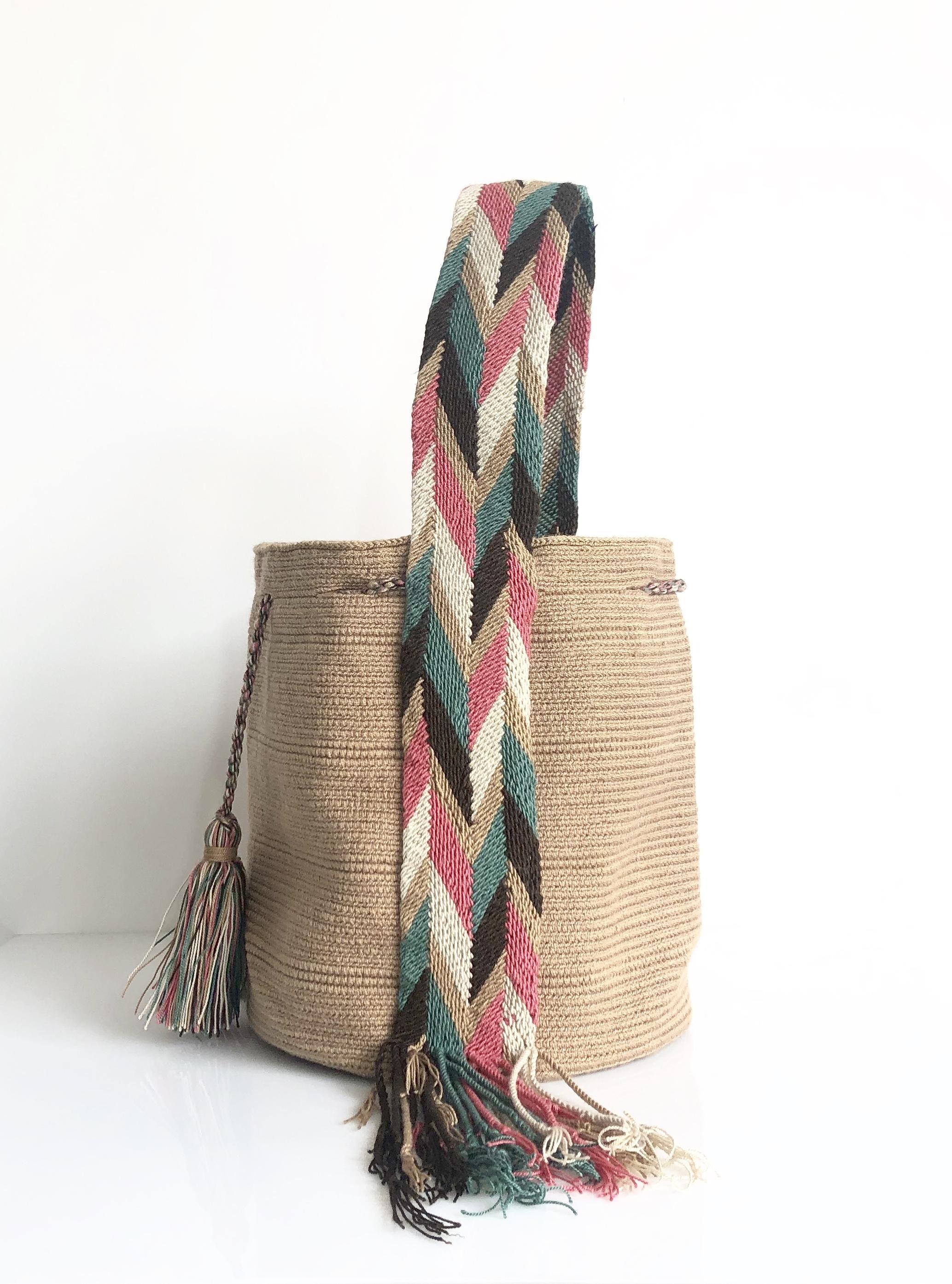 【予約】ワユーバッグ (Wayuu bag) Basic line Tote Lサイズ