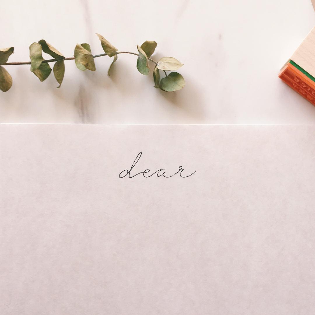 dearスタンプ