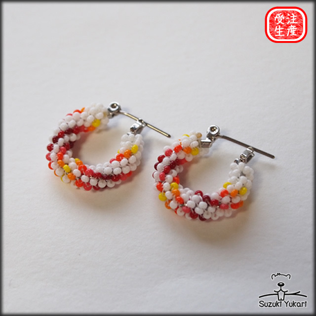 Beads Work Earring  / BER-002