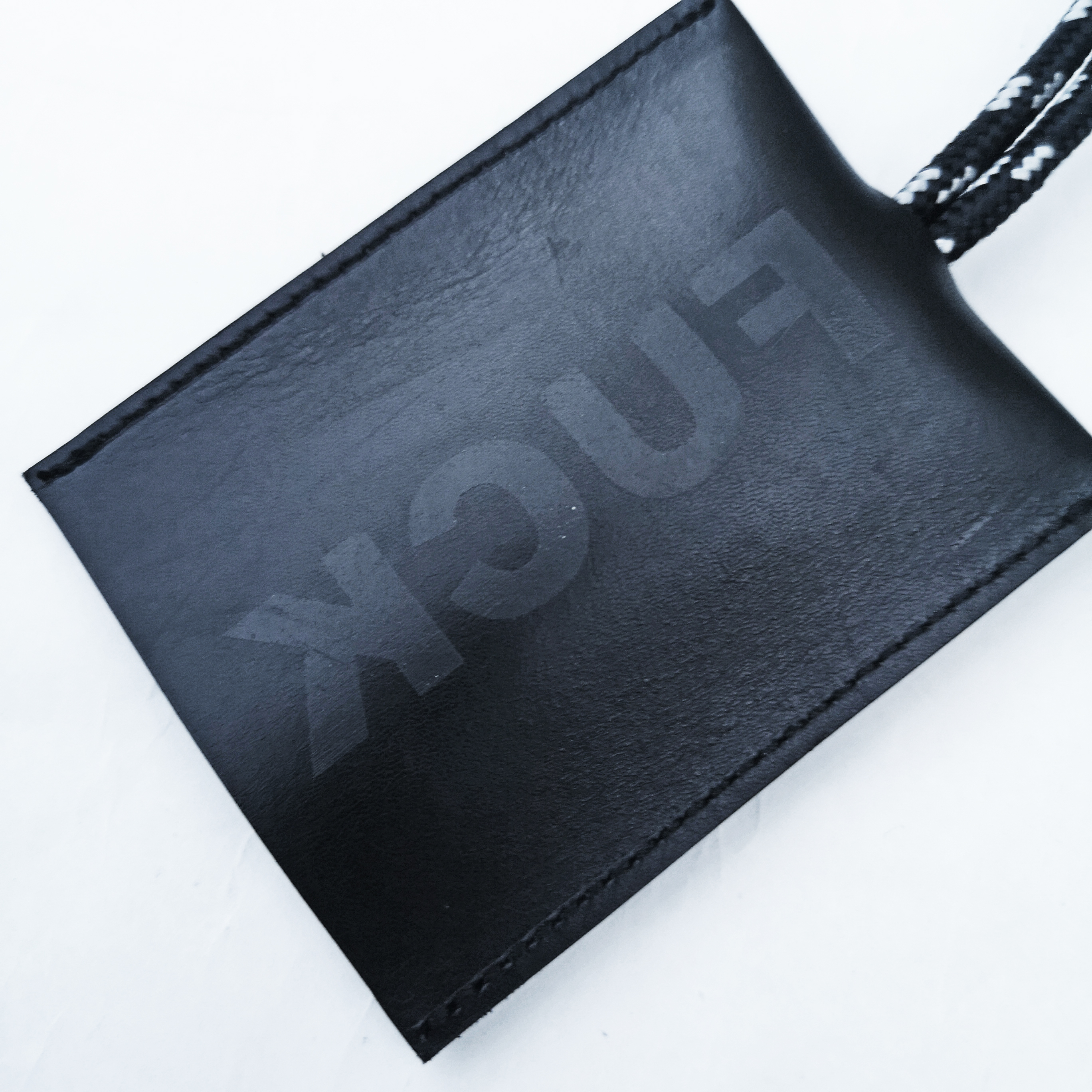 ||||| KCUF LEATHER NECK KEY CASE